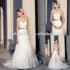 Vintage Sweetheart A-line Ruched With Lace Flowers Applique Wedding Gown With Sash