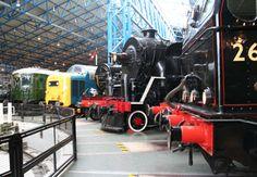 National Railway Museum, York National Railway Museum, National Museum, Travel Around The World, Around The Worlds, Rail Transport, Science Museum, Winning The Lottery, Britain, Transportation