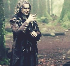 """You sometimes find yourself thinking about how much he does with his hands. He seems very good…with his hands. 