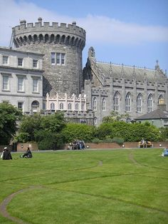 Dublin Castle is absolutely a must see