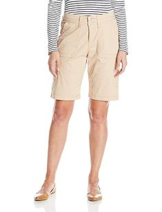 9dc68643a5 LEE Women's Relaxed Fit Avey Knit Waist Bermuda Short #Casual, #Shorts, #