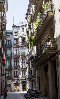 Barcelona. I lived to walk in the very small Streets, where you find small shops, with the most incridebel things.