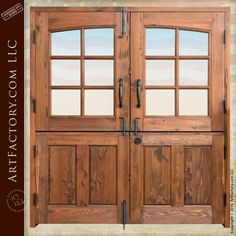 Double Dutch Doors Are Very Functional And Secure   CDD222