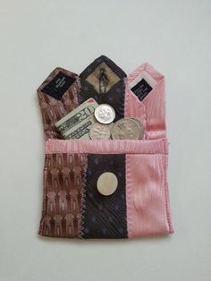 Coin Purse or Little Pouch Upcycled from by IndigoSpiritGirl