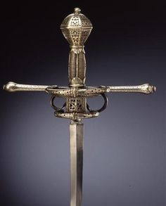 Rapier •Dated: late 16th/early 17th Century •Culture: German, Dresden