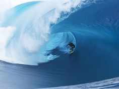 A look at the workplace of the big wave surfer | Herald Sun