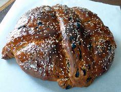 Peter Reinhart's Greek Celebration Bread (Christmas/Easter). Maybe for Easter?