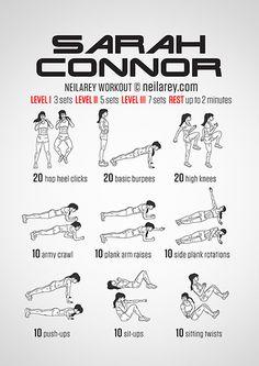 Sarah Connor Workout
