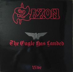 The Eagle Has Landed is the first live album by heavy metal band Saxon. It was recorded during the 1981 European leg of the world tour and released in 1982.  #vinyls #saxon