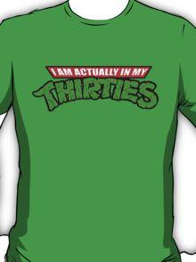 Teenage Mutant Ninja Thirties T-Shirt