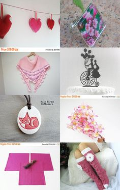 Pink Mood by Ingrida on Etsy--Pinned+with+TreasuryPin.com