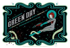GigPosters.com - Flogging Molly - Against Me! - Jimmy Eat World - Green Day