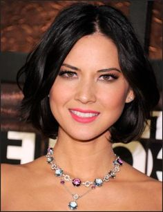 black-center-part-bob-short-hairstyle *except with a part on the side