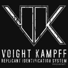 Blade Runner Voight Kampff Test#sciencefiction #scifi #bladerunner #tshirt #tshirts #tees #apparel #clothing