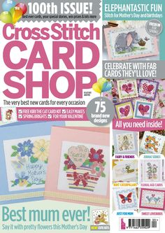 Cross Stitch Card Shop Issue 100 Patterns pinned