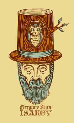 designed for gregory alan isakov, one of my favorite folk/bluegrass artists