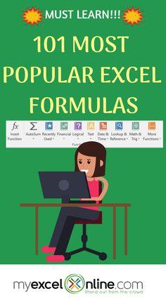 MyExcelOnline Excel E-books Excel Tips, Excel Hacks, Excel Budget, Budget Spreadsheet, Dashboard Design, Excel Design, Computer Help, Computer Programming, Computer Tips