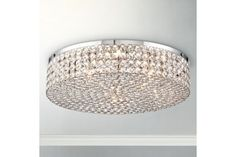Vienna Full Spectrum Velie 16-Inch-W Crystal Ceiling - #EU3C750 - Euro Style Lighting