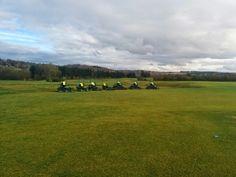 Demo golf equiment John Deere @ Naxhelet Belgium