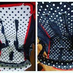 Black red and white #pimpmystroller #wkladkadowozka #kropy #czarnobiale #strollerdesign #valcosnap4