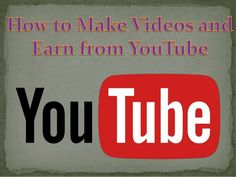 #Google_adsense_marketing YouTube is the most popular video platform. It attracts millions of visitors per day. You can earn thousands of dollars by uploading attractive, genuine and informative videos. There are a lot of online courses which offer the training to create attractive videos https://www.slideshare.net/webseographicsit/how-to-make-videos-and-earn-from-you-tube