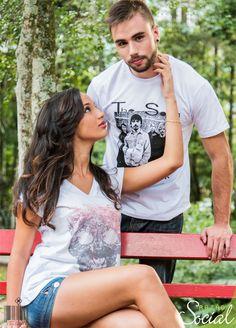 Peças masculinas e femininas em malha sustentável produzidas dentro dos pilares do #ComércioJustoeSolidário! Adquira também esse conceito, vista-se com consciência, use moda sustentável! www.rzstore.com.br Emoticon like #fairtrade #modasustentavel #sustainablefashion #ecoera #riocidadedecomerciojusto #petropolis #rj #shirt #female #male #man #woman Photo: Pedro Lorang Fotografia Makeup: Gustavo Vilasbôas Model: Juliana Tardelli e Ruan Baptista
