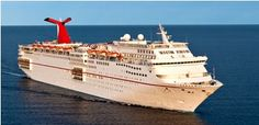 Carnival Cruise Line, Carnival Ecstasy cruise ship.Track at sea, live, in real time.