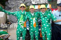 Irish fans at the 2013 Tour de France