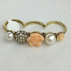 girlie triple ring ($9)