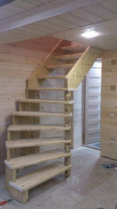 7 Top Useful Ideas: Attic Renovation Awesome attic diy bookcases.Attic Before And After Home Office. Wondrous Attic Staircase Ideas Source by leighannhicks Attic Staircase, Loft Stairs, Staircase Design, Staircase Ideas, Hallway Ideas, Garage Stairs, Ikea Hallway, Garage Attic, Attic Ladder