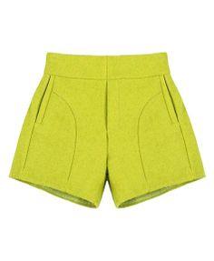 High Waist Pure Color Shorts