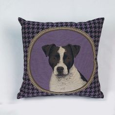 Coussin Gourmandise Jack russel 45x45