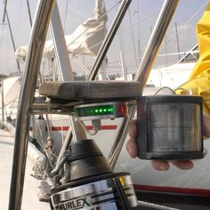 Size matters - compact navigation  lights  #sailboat #sail #yacht #boat #boating #luxury #sea #sailing #modern #ocean #sailingboats #sailingpassion #yachting #superyacht #superyachtworld #lopolight #design #lopolightnavigation #volvooceanrace #sizematters #yachts by lopolight