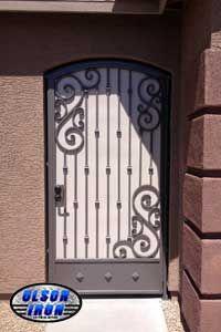 Las Vegas Security Doors Window Guards Wrought Iron Security