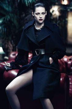 Fashiontography: Charlize Theron & Kristen Stewart by Mikael Jansson