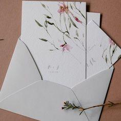 Oryginalne Zaproszenia Slubne Motyw Kwiatowy