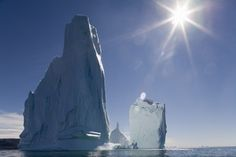 Icebergs in Ililussat