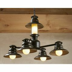 $180 Grand River Lodge™ 5-Light Lantern Chandelier at Cabela's
