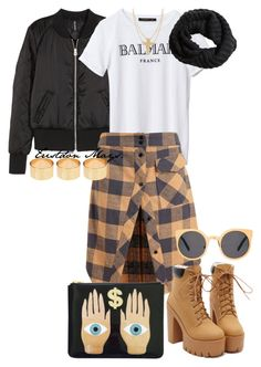 """#Looks4Less (RVBEL LXFE BIH!)"" by monroestyles ❤ liked on Polyvore featuring H&M, Filles à papa, ASOS, LOOKSFORLESS, winterfashion, fallfashion and looks4less"