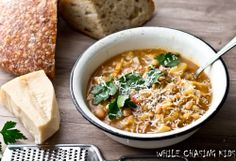 Minestrone Soup with white beans
