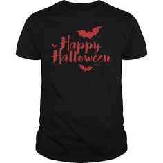 A great gift for your loved ones on Halloween 2017:  Happy halloween T-Shirt