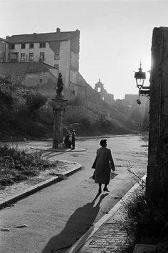 ERICH LESSING    The war-damaged city of Berlin. 1951