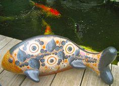 original Tonala Mexico pottery from Jorge Wilmots gallery. $90.00, via Etsy.