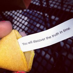 inspirational fortune cookie.