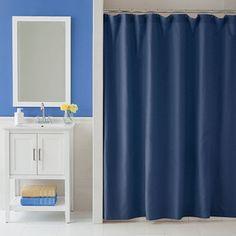 Martex Shower Curtain Blue