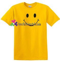 Smile Emoji Face T Shirt gift tees unisex adult cool tee shirts Cool Tee Shirts, Cool Tees, T Shirt, Smile Design, Emoji Faces, Plain Tees, Unisex, Sweatshirts, Gifts