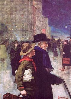 The Daily Good Turn | Norman Rockwell