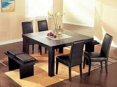 Image result for square dining table for 8 & Mino Natural Square Dining Table | Pinterest | Square dining tables ...