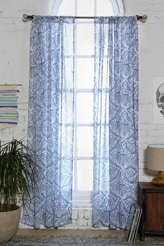 Magical Thinking Aviary Curtain - Urban Outfitters
