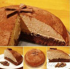 Obrázek z Recept - Kávovo - čokoládový dort